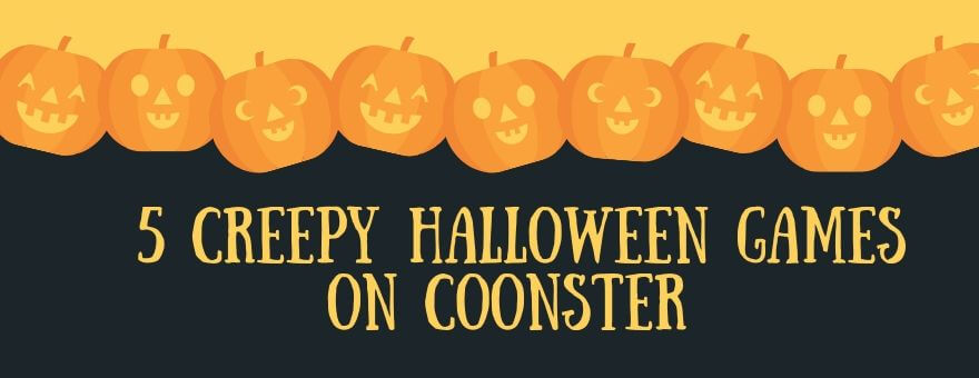 5 Creepy Halloween Games on Coonster large