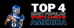 Top 4 Most Popular Sports Games in America thumb