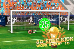 3D Free Kick: World Cup 18 thumb