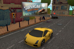 Supercar Endless Rush Online thumb
