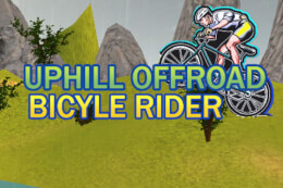Uphill Offroad Bicycle Rider thumb