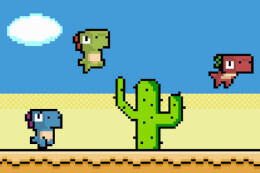 Pixel Dino Run thumb