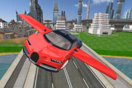 Flying Car Driving Simulator thumb