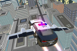 Police Flying Car Simulator thumb