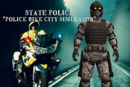 Police Bike City Simulator thumb