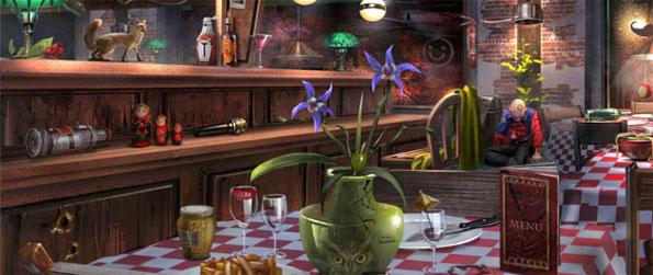 A Russian Case - Dining Room - Scene 1