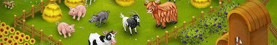 Animals in Farm Games