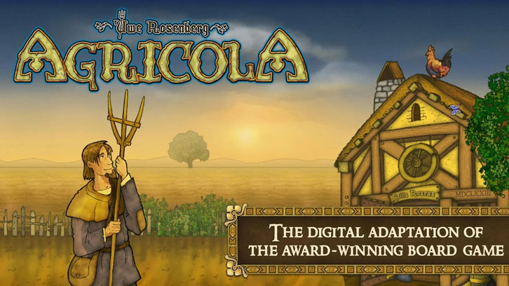 Asmodee Digital Releases Agricola: Revised Edition on PC and Mobile