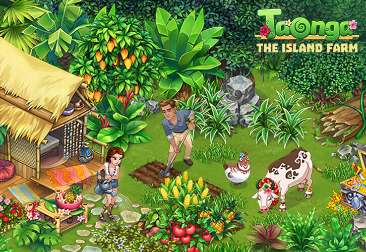 Set Up Your Beautiful Tropical Island Farm in Taonga!