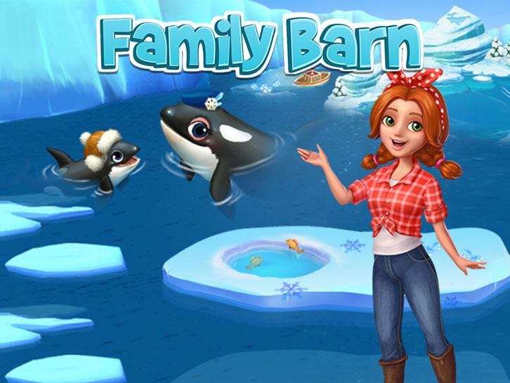 Family Barn: An Orca in Need