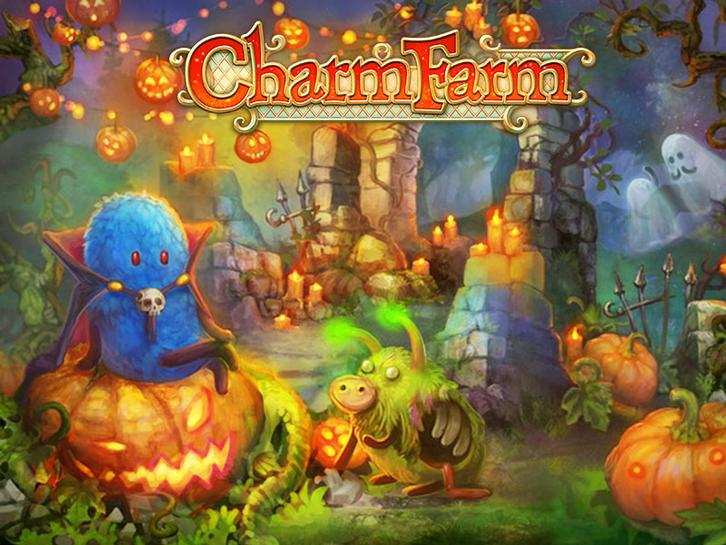 Stop the Gwonks from Ruining Halloween in Charm Farm