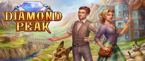 Diamond Peak - Start your adventure in a deserted land and start your own dream town in Diamond Peak.