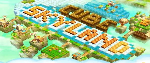 Cube Farm 3D: Harvest Skyland - Live in a fertile land above the sky, mine meteorites raining from space with other villagers and your friends.