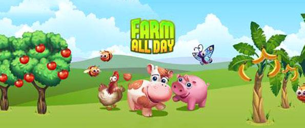 Farm All Day - Manage your own farm in the amazing game play of Farm All Day.
