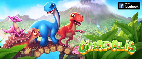 Dinopolis - Manage your own farm in a world of dinosaurs in Dinopolis.