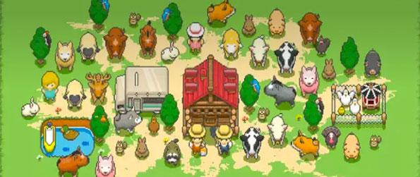 Tiny Pixel Farm - Help your grandfather reclaim his farm from the greedy corporate people in Tiny Pixel Farm!