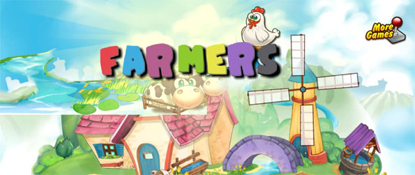Farmers - Enjoy this simple and addicting farming game that promises to deliver an engrossing experience.