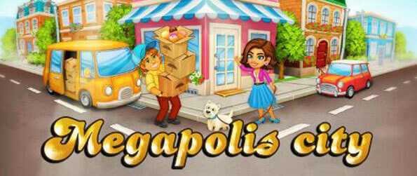 Megapolis City: Village to Town - Collect money from business and build new ones to keep your economy growing.
