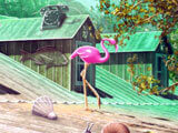 Hidden Object Farm Games Pink Flamingo