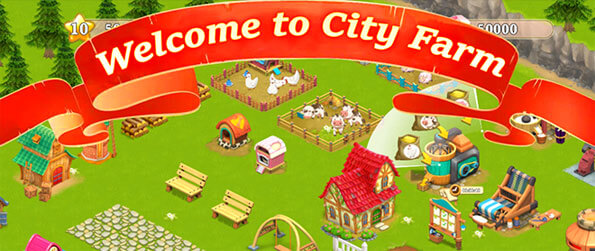 City Farm - Turn your simple patch of land into a thriving farm in this phenomenal game that'll have you hooked.