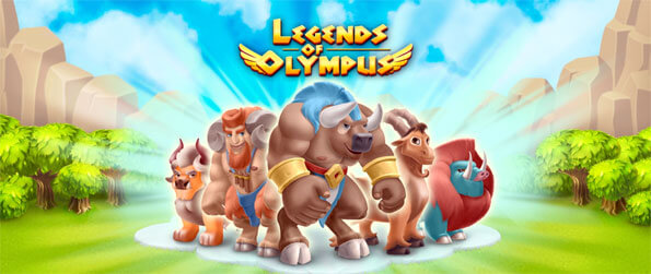 Legends of Olympus - Enjoy this awesome game that perfectly blends the elements of city building and farming games into a single package.