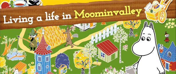 MOOMIN Welcome to Moominvalley - Get hooked on this exciting simulation game that truly is like no other.