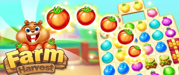 Farm Harvest 3 - Play this top-of-the-line match-3 game that'll have you glued to your screen for countless hours.