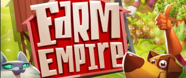Farm Empire - Get ready for a good old farming adventure with plenty of cute farm animals and crops!