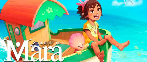 Summer in Mara - Join the young girl Koa on her adventures beyond her home island in this farm adventure game, Summer in Mara!