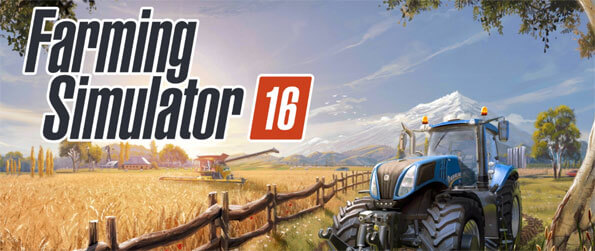 Farming Simulator 16 - Immerse yourself in this authentic and realistic farming game that doesn't disappoint.