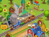 Train Ready to Depart in Idle Farmer Simulator