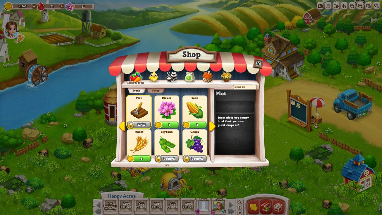 Acres android happy Download Lost