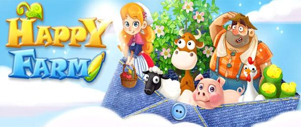 Happy Farm - Develop your farm and play with cute animals in a free Facebook game.