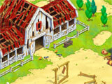 Save the Hay: Word Adventure rebuilding the farm