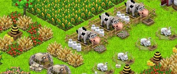 Country Life - Own a farm in a gentle and fun farm game free on Facebook.
