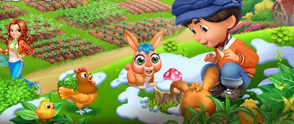 Happy Land - Enjoy a classic farm game with the latest graphics in a brilliant new Facebook game.
