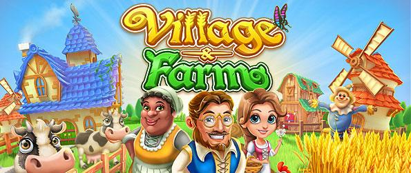 Village and Farm - Channel your inner green thumb, and be one with the farmer wanna-bees in this wonderful farming simulation game dedicated for the mobile consumers!