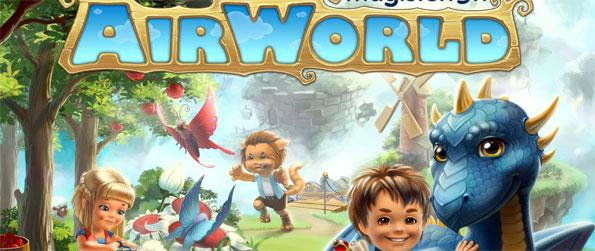 Dragon Farm: Airworld - Build and decorate your own floating island and ride dragons in this thrilling game.