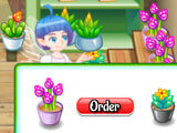 Ordering more flowers in Flower Shop