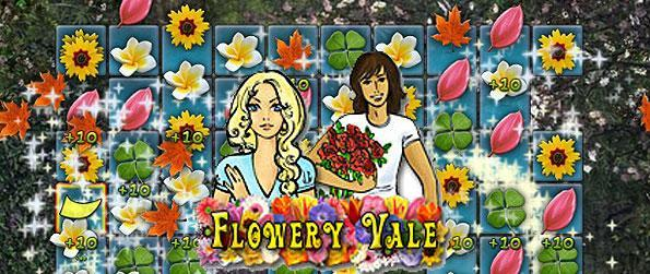 Flowery Vale - Experience the vibrant world of flowers as you play this wonderful match 3 game.
