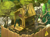 Dismantling a treehouse in Gardenscapes: New Acres