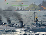 Combat in World of Warships
