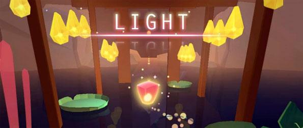 Light! - Guide a light orb through the darkness in this beautifully unique game Light !