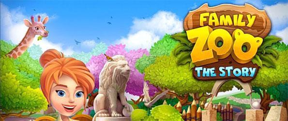 Family Zoo: The Story - Restore your family zoo in this epic match-3 game Family Zoo: The Story.