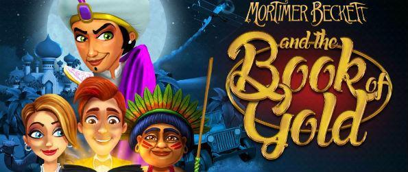 Mortimer Beckett and the Book of Gold - Mortimer Beckett and the Book of Gold takes you an incredible journey filled with hidden puzzles, mice, and diamonds.