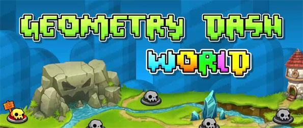 Geometry Dash World - Play this immersive platformer game that'll have you engaged for hours upon hours.