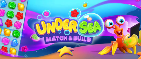 Undersea: Match & Build - Help Alfred the crab restore his home by playing challenging match-3 puzzle games in Undersea: Match & Build!
