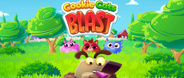 Cookies Cats Blast - Cookies Cat Blast is a fun and entertaining match-3 game that uses some of the cutest elements to humans: dogs and cats.