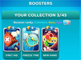 Word Domination collecting boosters