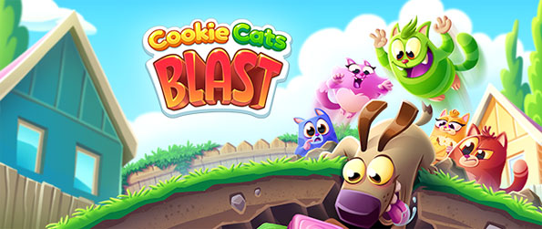 Cookie Cats Blast - Get hooked on this captivating puzzle game that you won't be able to let go of.